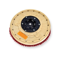 "16"" MAL-GRIT LITE GRIT (500) scrubbing brush assembly fits MINUTEMAN (Hako / Multi-Clean) model Hako Matic B-43"