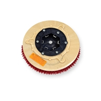 "12"" MAL-GRIT LITE GRIT (500) scrubbing brush assembly fits MINUTEMAN (Hako / Multi-Clean) model 240X"
