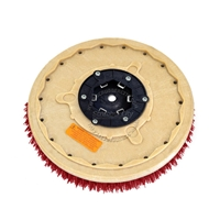 "19"" MAL-GRIT LITE GRIT (500) scrubbing brush assembly fits MINUTEMAN (Hako / Multi-Clean) model 380, (3800)"