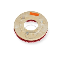 "12"" MAL-GRIT LITE GRIT (500) scrubbing brush assembly fits NILFISK-ADVANCE model Whirlamatic-260B"