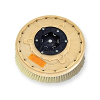 "16"" White Tampico brush assembly fits MINUTEMAN (Hako / Multi-Clean) model Hako Matic 32-B"