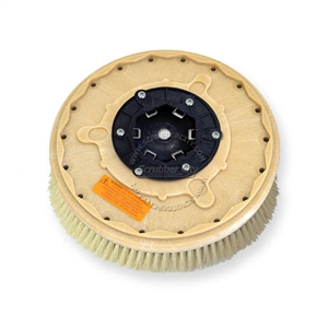"16"" White Tampico brush assembly fits MINUTEMAN (Hako / Multi-Clean) model Hako Matic B-43"