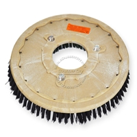 "19"" Poly scrubbing brush assembly fits NOBLES model 5300 T 11"" bolt circle and no riser"