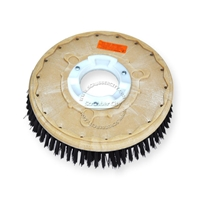 "13"" Poly scrubbing brush assembly fits NOBLES model 260, 260XP"