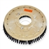 "19"" Nylon scrubbing brush assembly fits NOBLES model 5300 T 11"" bolt circle and no riser"