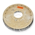"19"" Steel wire scrubbing brush assembly fits NOBLES model 5300 T 11"" bolt circle and no riser"