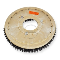"19"" MAL-GRIT (80) scrubbing and stripping brush assembly fits NOBLES model 5300 T 11"" bolt circle and no riser"