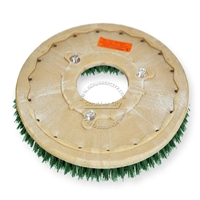 "19"" MAL-GRIT SCRUB GRIT (120) scrubbing brush assembly fits NOBLES model 5300 T 11"" bolt circle and no riser"