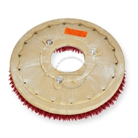 "19"" MAL-GRIT LITE GRIT (500) scrubbing brush assembly fits NOBLES model 5300 T 11"" bolt circle and no riser"