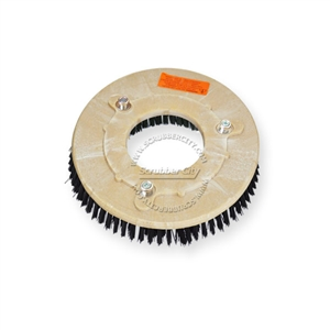"12"" Nylon scrubbing brush assembly fits NSS (NATIONAL SUPER SERVICE) model Wrangler 26"