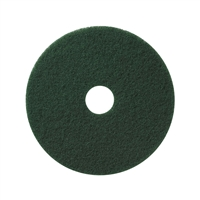 "13"" Green Scrubbing Pads Case of 5"