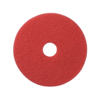 "13"" Red Buffing Scrubbing Pads Case of 5"
