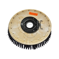 "14"" Nylon scrubbing brush assembly fits POWERBOSS model CP 28"