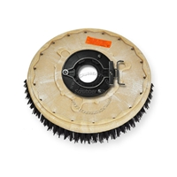 "14"" MAL-GRIT (80) scrubbing and stripping brush assembly fits POWERBOSS model CP 28"