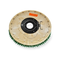 "16"" MAL-GRIT SCRUB GRIT (120) scrubbing brush assembly fits POWERBOSS model CP 32"
