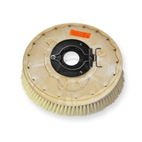 "14"" White Tampico brush assembly fits POWERBOSS model CP 28"