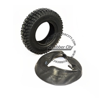 374049 - Tire, blk, 4.10/3.50-6 [with tube] for Tennant, Nobles