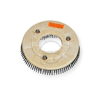 "11"" Steel wire scrubbing brush assembly fits Tennant model T3+ Takes 5.906"" b/c. Requires fixture 243-W."