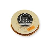 "12"" MAL-GRIT XTRA GRIT (46) scrubbing brush assembly fits Tennant model 465, 1465"