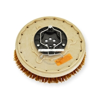 "13"" MAL-GRIT XTRA GRIT (46) scrubbing brush assembly fits Tennant model T5 - 28"""
