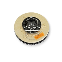 "11"" MAL-GRIT (80) scrubbing and stripping brush assembly fits Tennant model 5400-24D"