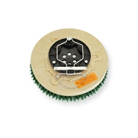 "11"" MAL-GRIT SCRUB GRIT (120) scrubbing brush assembly fits Tennant model 5400-24D"