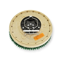 "13"" MAL-GRIT SCRUB GRIT (120) scrubbing brush assembly fits Tennant model T5 - 28"""