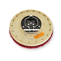 "15"" MAL-GRIT LITE GRIT (500) scrubbing brush assembly fits Tennant model Servomatic 17"