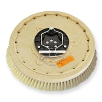 "18"" White Tampico brush assembly fits Tennant model Powerline 20-HD"
