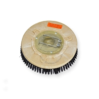 "11"" Poly scrubbing brush assembly fits TORNADO model 3800 Floorkeeper"