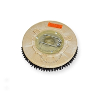 "12"" MAL-GRIT (80) scrubbing and stripping brush assembly fits TORNADO model Floorkeeper 24 (99320/321)"