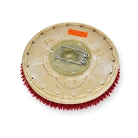"14"" MAL-GRIT LITE GRIT (500) scrubbing brush assembly fits TORNADO model Floorkeeper 28 (99350/351)"