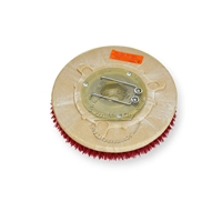"12"" MAL-GRIT LITE GRIT (500) scrubbing brush assembly fits TORNADO model Floorkeeper 24 (99300/301)"