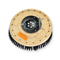 "13"" Poly scrubbing brush assembly fits Windsor model Saber Glide 28"