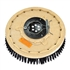"20"" Poly scrubbing brush assembly fits Windsor model Chariot 20 (1) (new style)"