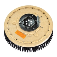 "19"" Poly scrubbing brush assembly fits Windsor model Trident Compact 20"
