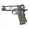 "Hogue 1911 Government/Commander 3/16"" Thin Grips G-10 Checkered G-Mascus Green"