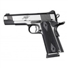 "Hogue 1911 Government/Commander 3/16"" Thin Grips G-10 Checkered Solid Black"