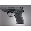Hogue Walther P5 Auto Rub Grip Pan Blk