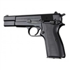 Hogue Browning Hi Power Grips G-10 Solid Black