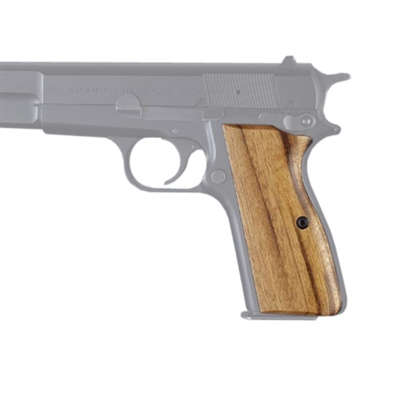 Hogue Wood Grip - Goncalo Alves Browning High Power 9mm