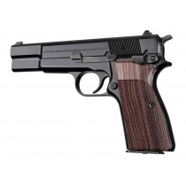 Hogue Browning Hi Power Grips Checkered Kingwood