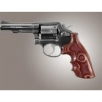 Hogue S&W K or L Frame Square Butt Grip Rose Laminate