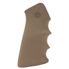 Hogue AR-15 Rubber Grip with Finger Grooves Flat Dark Earth