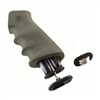 Hogue AR-15 Rubber Grip w/Storage Kit Olive Drab Green
