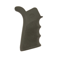 Hogue AR-15 Rubber Grip Beavertail w/Finger Grooves Olive Drab Green