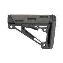 AR-15 / M16: OverMolded Collapsible Buttstock (Fits Commercial Buffer Tube) - Ghillie Green