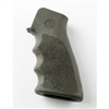 Hogue AR-15 Rubber Grip w/Finger Grooves Ghillie Green