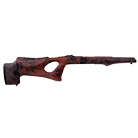 Hogue 10/22 Takedown Thumbhole Standard Barrel Rubber OverMolded Stock Red Lava