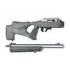 "Hogue 10/22 Takedown Thumbhole .920"" Diameter Barrel Rubber OverMolded Stock Ghillie Green"